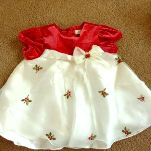 Other - Red and white dress